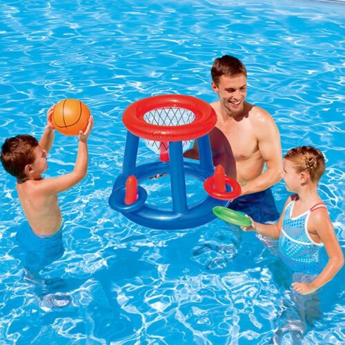 Water Basketball Hoop Pool Float Inflatable Swimming Pool Toy for Children GT
