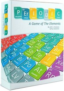 Periodic: A Game of the Elements 	Genius Games Strategy Board Game