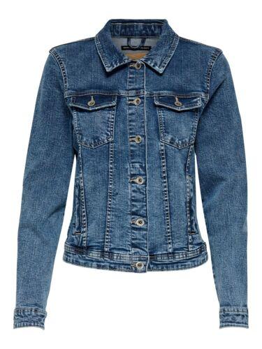 Only  Tia Damen Jeansjacke Jacke Damenjacke Denim Übergangsjacke Jeans