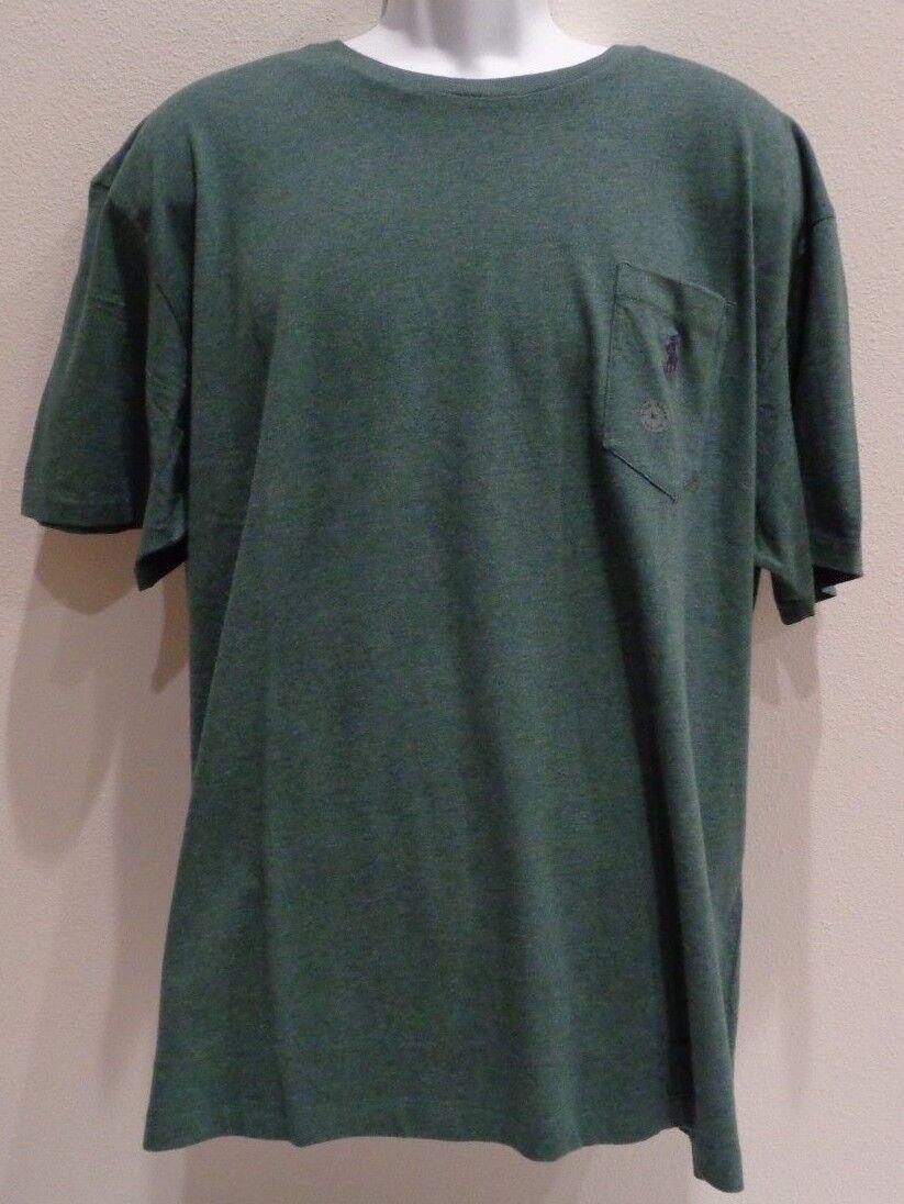 Polo Ralph Lauren Size XL MCLASSICS2 Green New Mens Short Sleeve Shirt