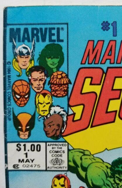 Canadian Marvel Secret Wars #1 Blue Galactus Error Variant CPV Newsstand CGC