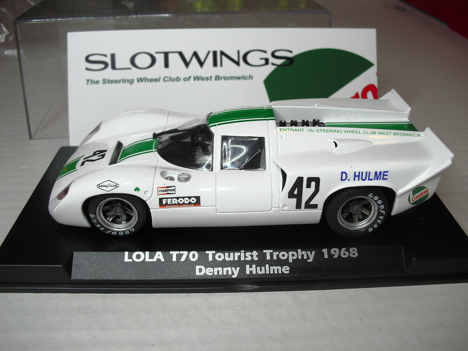 SLOTWINGS LOLA T70 Tourist Trophy 1968 New 1 32 Ref