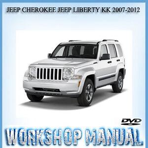 jeep cherokee jeep liberty kk 2008 2013 workshop service repair rh ebay com au 2000 jeep cherokee sport service manual 2001 jeep cherokee sport service manual
