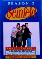 Seinfeld - Volume 2 Season 3 - Jerry Seinfeld - (4) Dvd Set - Still Sealed