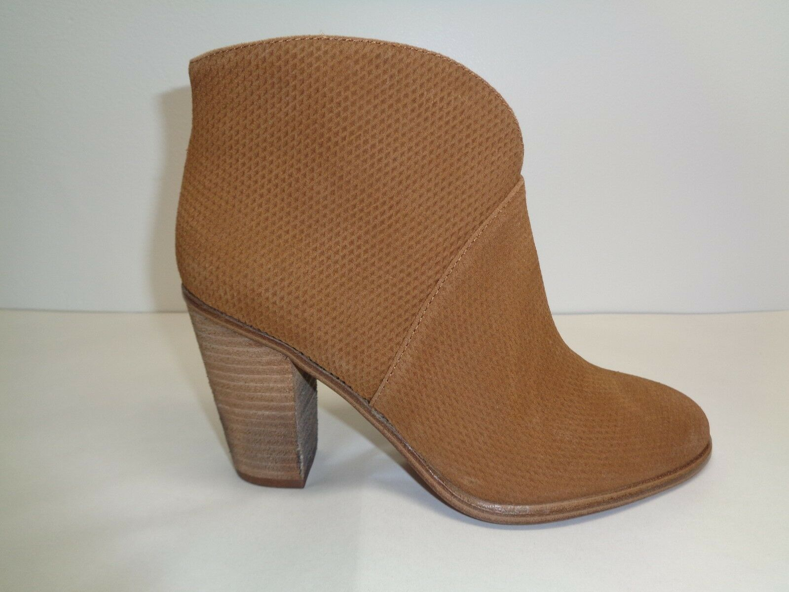 Vince Camuto Size 9.5 M FRANELL Brown Suede Leather Ankle Boots New Womens Shoes