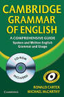 Cambridge Grammar of English Hardback with CD ROM: A Comprehensive Guide by Ronald Carter, Michael J. McCarthy (Mixed media product, 2006)