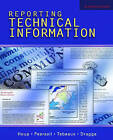 Reporting Technical Information by Elizabeth Tebeaux, Kenneth W. Houp, Thomas E. Pearsall, Sam Dragga (Paperback, 2005)