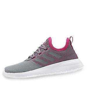 best service 43c71 8cf98 Details zu adidas Kinder Mädchen Lite Racer RBN Sneaker low Halbschuhe  Schuhe grau/pink