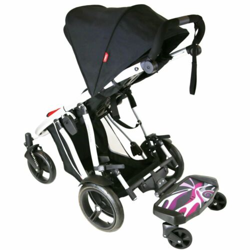 Buggy Board avec option siège//selle pour s/'adapter Obaby Zoom Tandem