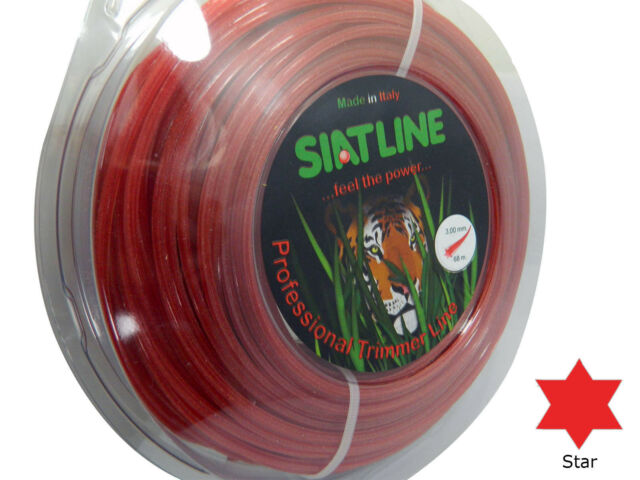 Heavy Duty Professional ALU Strimmer line wire,2,4 mm ROUND,MADE IN ITALY
