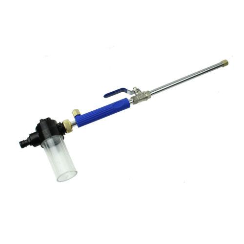 Details about  /Car Foam High Pressure Power Water Gun Washer Water Jet Garden Hose Wand Nozzle