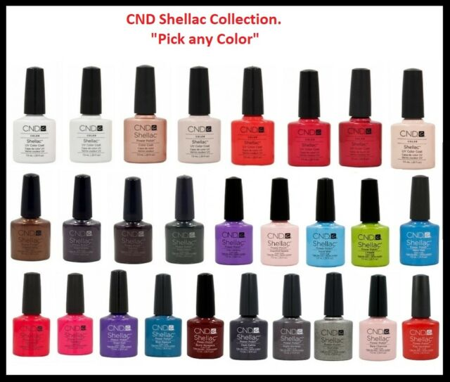 Cnd Shellac Gel Polish With Colors Buy 10 Get 1 Dosmestic Clay