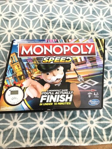 Details about  /Speed Monopoly Board Game New Open Box