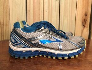 42efbf6b82a BROOKS ADRENALINE GTS 15 Women s Gray Blue Running Shoes Size 6.5