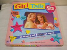 Girl Talk Truth Or Dare Board Game 2nd Ed Vintage 1990 Golden Almost Complete
