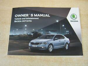 skoda octavia owners manual handbook 2015 2018 petrol diesel sat rh ebay co uk skoda octavia owners manual 2017 owner's manual skoda octavia 2005