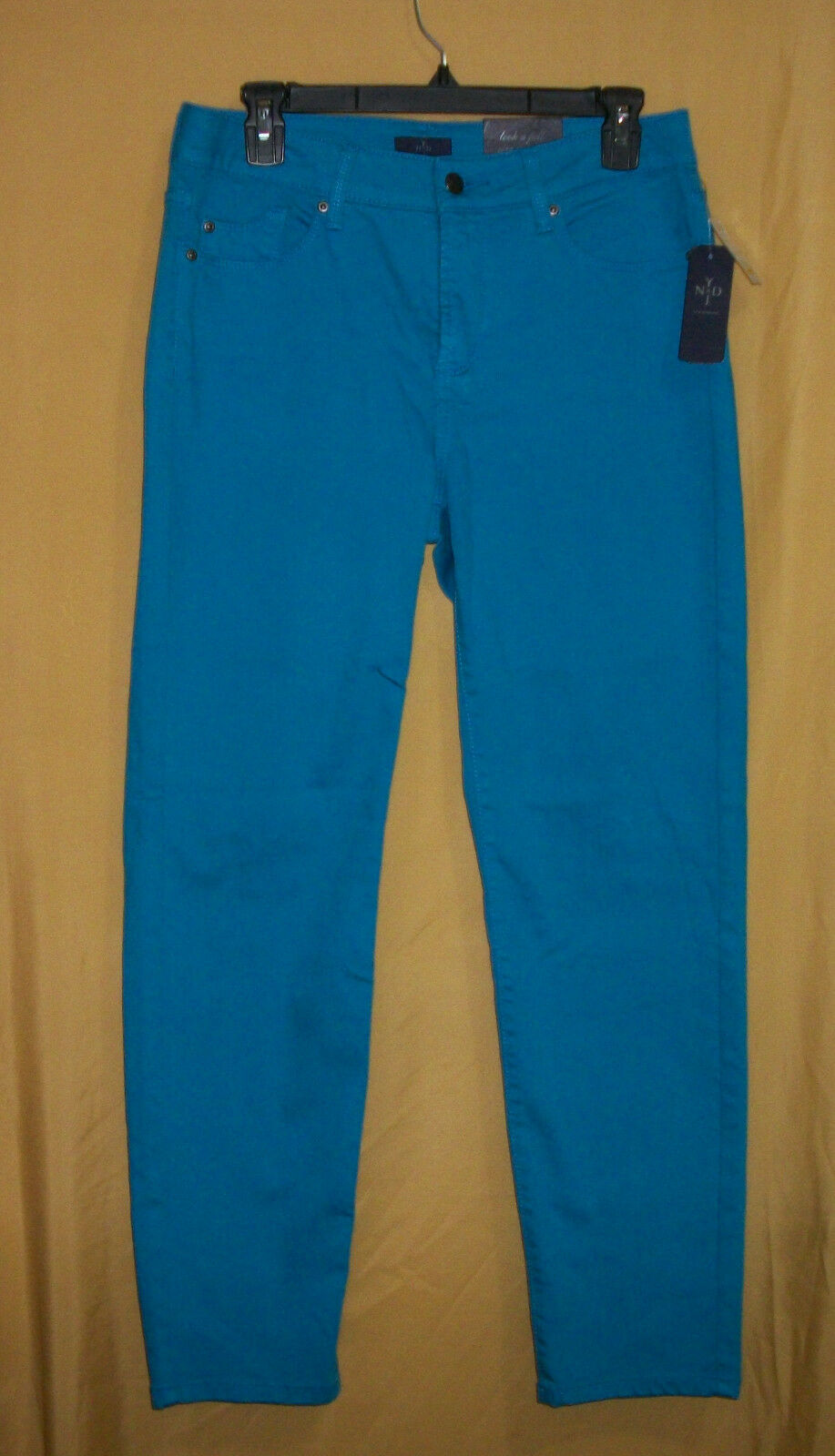 NYD Not Your Daughter's Jeans women's Poolside aqua bluee ankle denim pants