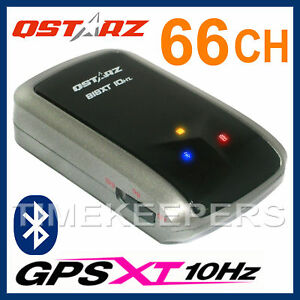 qstarz bt q818xt 10hz 66 channel fast high speed bluetooth gps receiver ebay. Black Bedroom Furniture Sets. Home Design Ideas