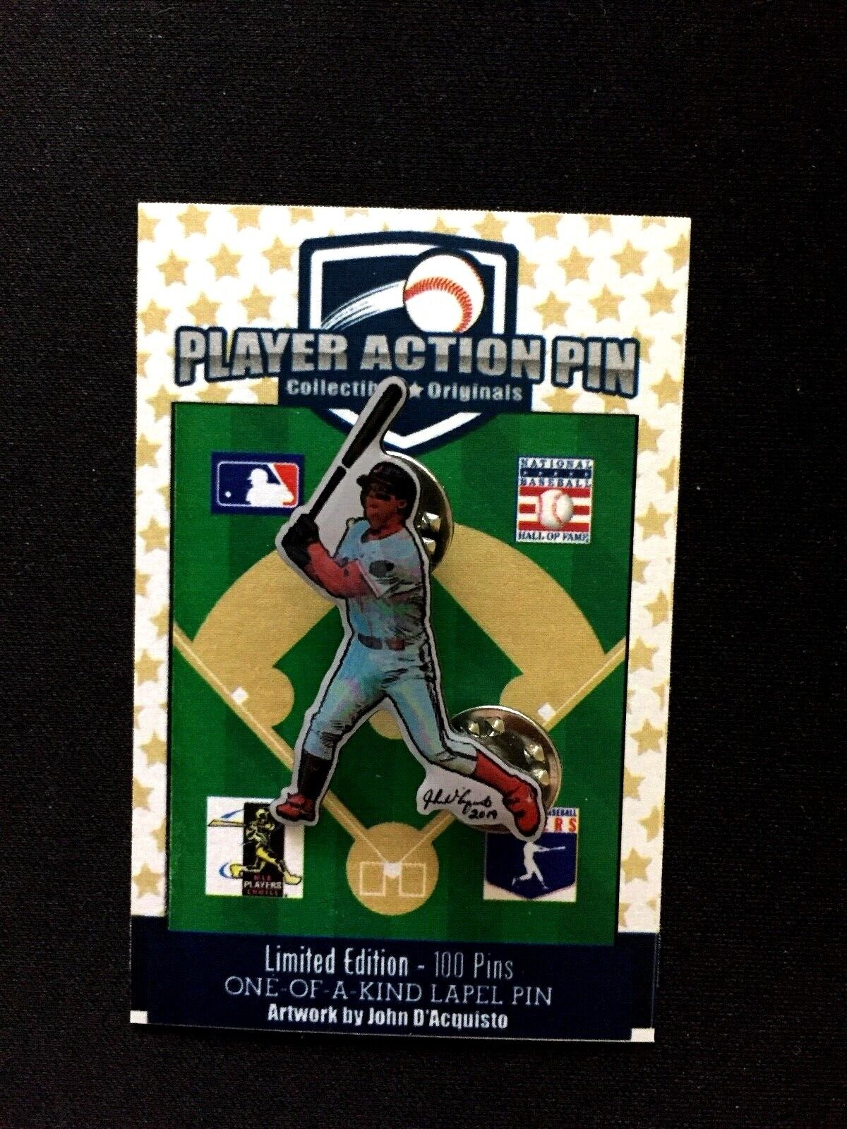 Cleveland Indians Jim Thome jersey lapel pin-Classic Collectible-HOF 2018