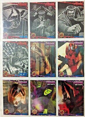 VARIOUS BLUE FOIL PARALLEL CARDS 1 TO 81 SPIDER-MAN /'97 FLEER ULTRA 1997