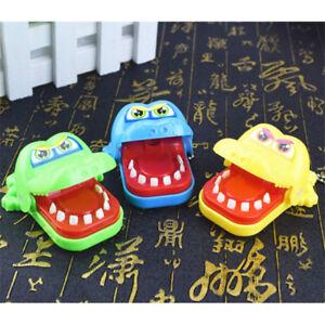 Krokodil-Kroko-Mund-Zahnarzt-Biss-Finger-Reaktionsspiel-Kind-Spielzeug-Toys-hi