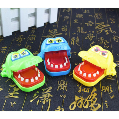 Cute Small Crocodile Mouth Dentist Bite Finger Game Funny Toy Kids Children hi