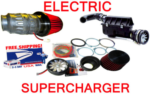 SC Ford Speed Performance Electric Air Intake Supercharger Fan Motor Kit