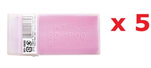 NT CUTTER BD-1800 Spare Blade Präzision 30-Degree Segment, 100-Blade x 5-Pack