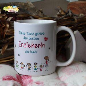 Details About Tasse Diese Tasse Erzieherin Geschenk Kita Kindergarten Weihnachten
