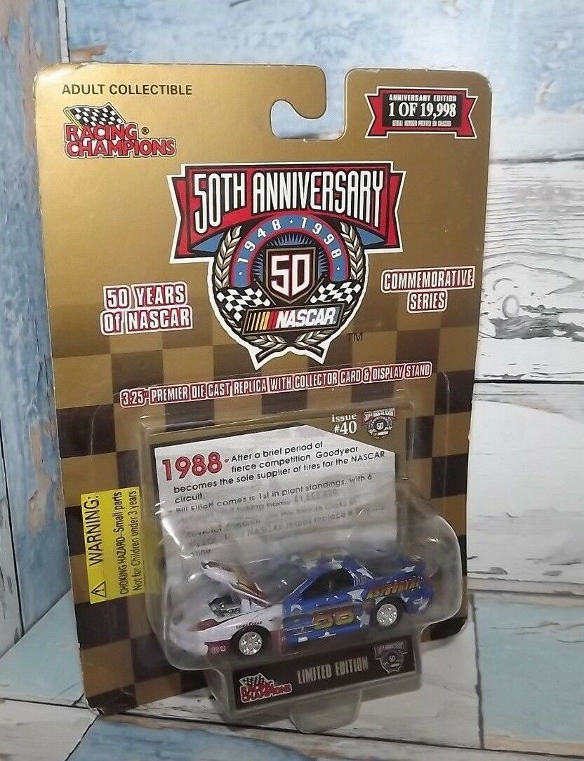 RACING CHAMPIONS 50 YEARS OF NASCAR 1988 VALUE PRICED  9.99 SHIPPED
