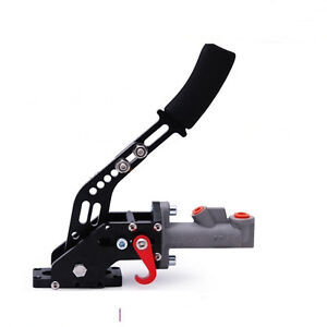 Universal-Hydraulic-Drift-E-Brake-Racing-Handbrake-0-75-034-Master-Cylinder-Black