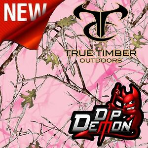 Details about NEW TRUE TIMBER PINK CONCEAL HYDROGRAPHIC WATER TRANSFER FILM  HYDRO DIP DIPPING