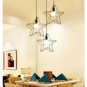 Image Is Loading Star Shape Pendant Light Shade Ceiling Lamp