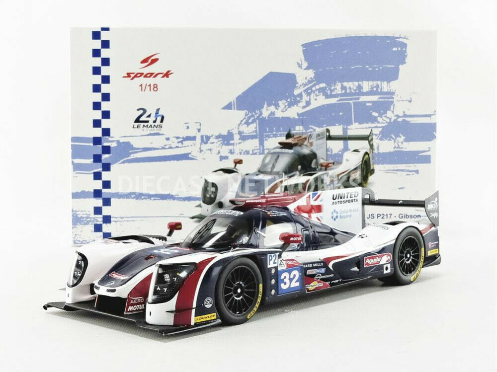 para mayoristas Spark - 1 18 - Ligier Js P217 Gibson LMP2 LMP2 LMP2 - Le Mans 2018 - 18S401  venta directa de fábrica