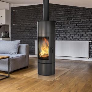Antares Free Standing Modern Contemporary Wood Burning Stove Wood Log Burner 5901350006115 Ebay