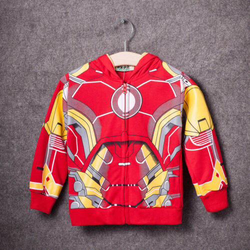 Kids Toddler Boys Avengers Sweatshirt Hoodies Coat T-Shirt Tops Pants Outfit Set