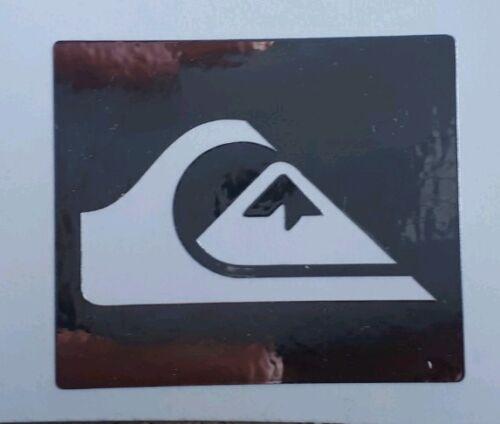 Chrome Quiksilver Skateboard Surf Auto Camper Adesivo Vinile Decalcomania 100mm