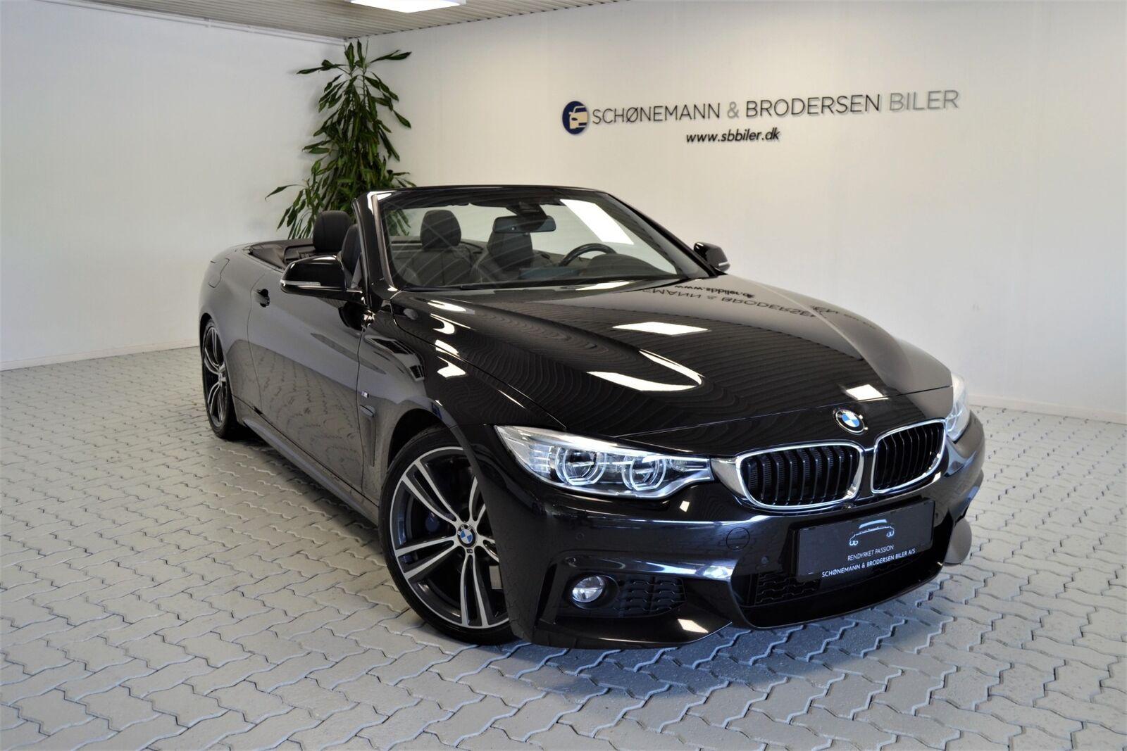 BMW 440i 3,0 Cabriolet xDrive aut. 2d - 4.900 kr.