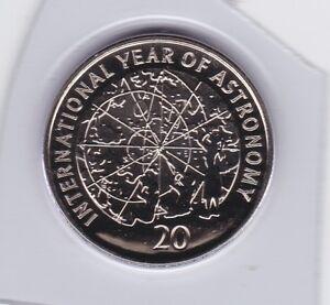 2009-Australia-20-Twenty-Cent-UNC-Uncirculated-Coin-ex-Set-Year-Astronomy