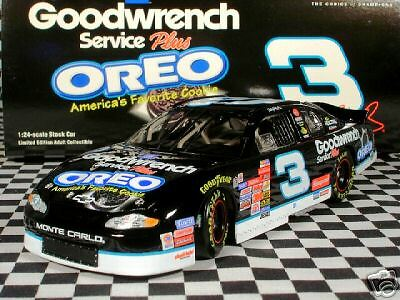 Dale Earnhardt  3 GM Goodwrench Oreo 2001 Monte Carlo
