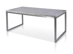Esstisch 180x90 Jonathan Tisch Küchentisch Tischplatte Mdf Beton