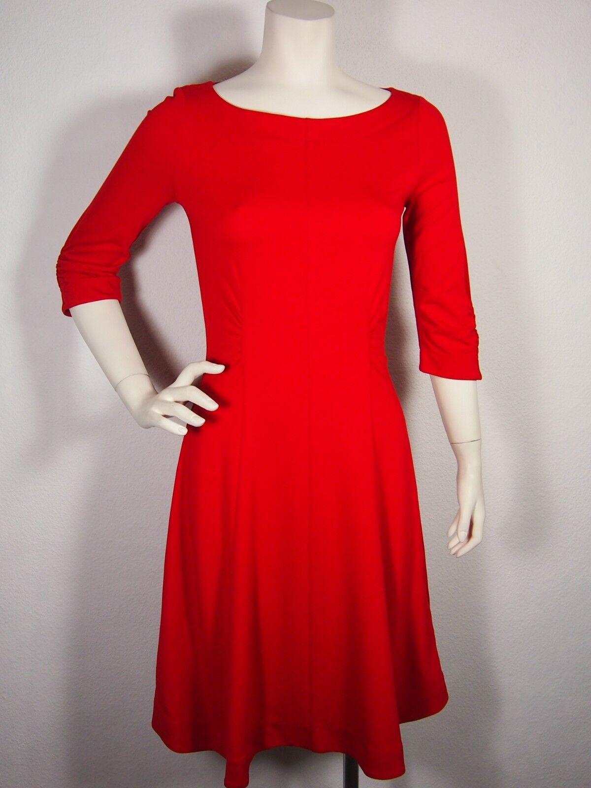 WEEKEND By MAXMARA Red Jean Jersey Dress Sz S Reg 295.00