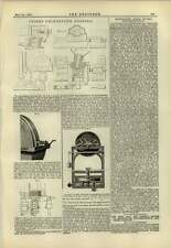 1883 Trier Grindstone Dresser Raffard Transmission Dynamo Meter