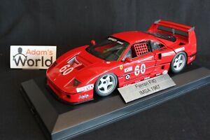 Hot-Wheels-Elite-transkit-Ferrari-F40-LM-1989-1-18-60-Alesi-1h-IMSA-GTO-PJBB