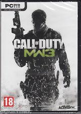 Call of Duty Modern Warfare 3 PC Brand New Sealed COD MW3