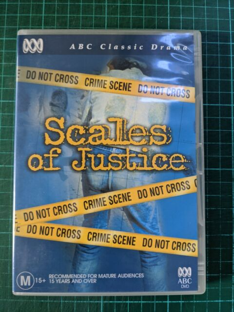 Scales Of Justice 1983 DVD ABC police crime drama TV miniseries BLUE MURDER