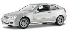 Maisto 1/18 Diecast Mercedes Benz C-Class Silver Sports Coupe 31614 NIB