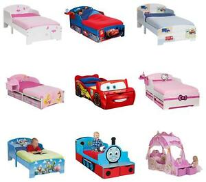 Image Is Loading CHARACTER JUNIOR TODDLER BEDS FREE POSTAGE Amp PACKING