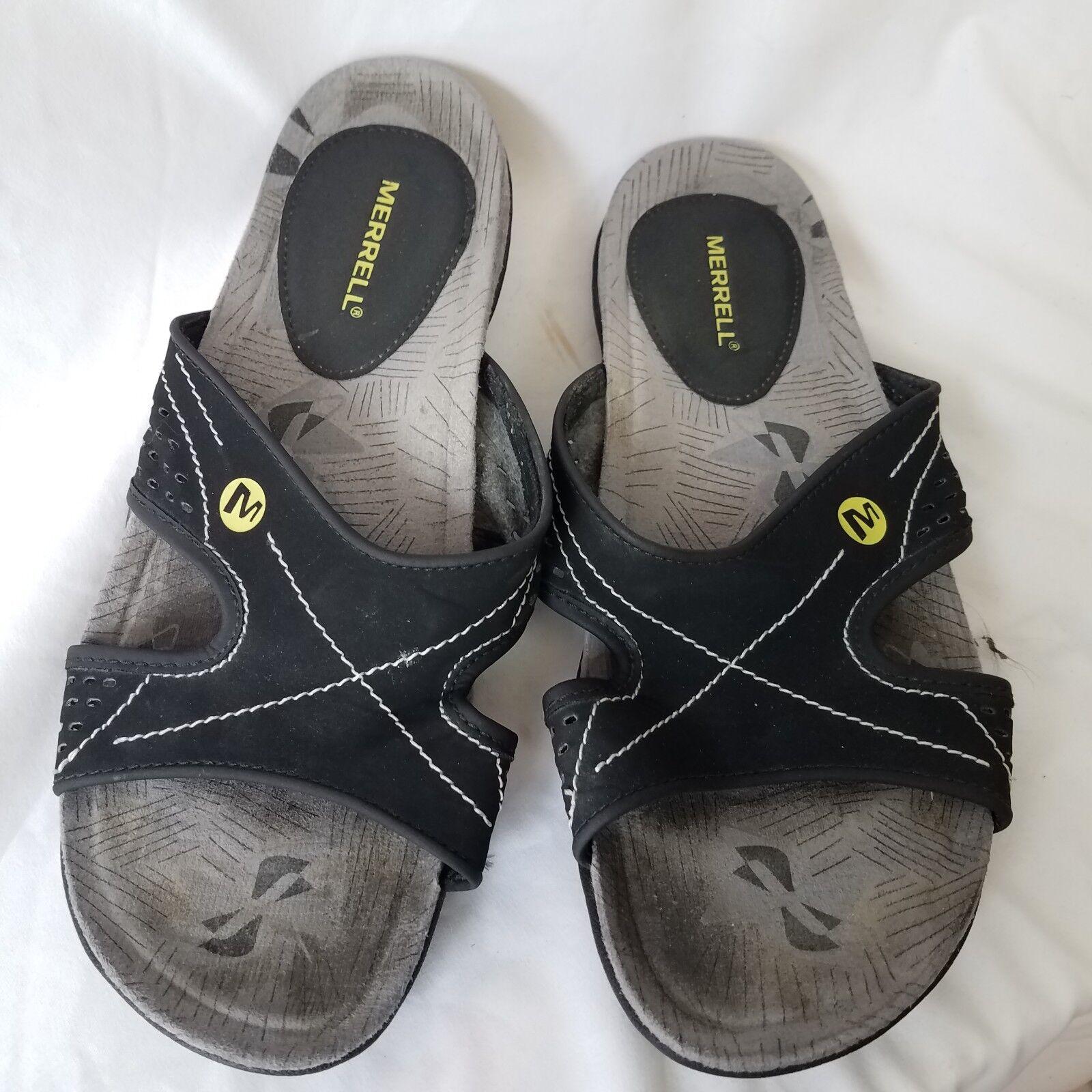 Merrell size 7 womens Lorelei Slide Black Sandals womens 7 56467f