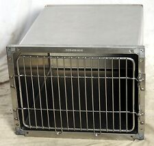 "Shor-Line Stainless Steel Modular Animal Cage 24"" x 18"" x 28"" Single Door"